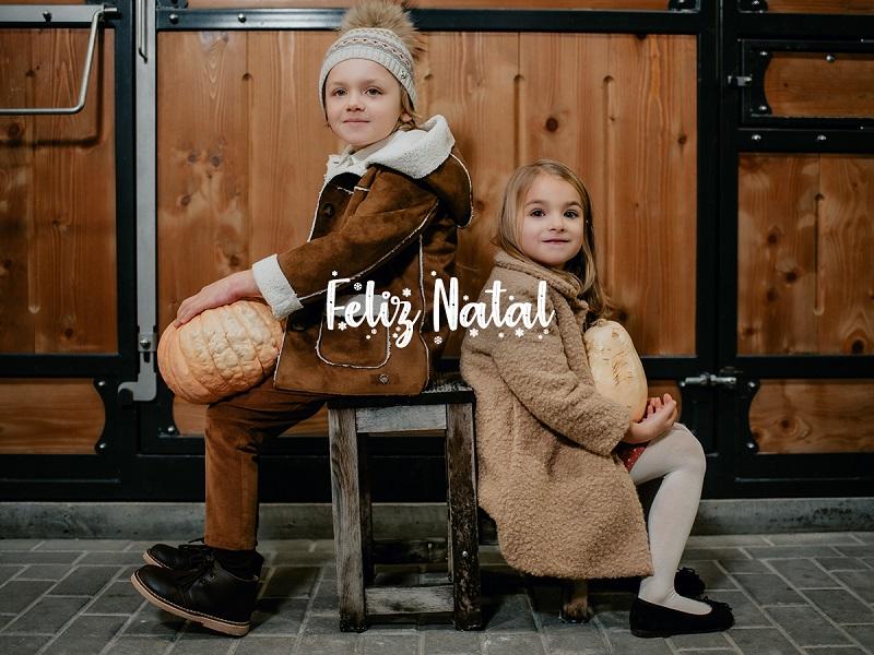 Moda Infantil para o Natal com o Lookbook Pisamonas
