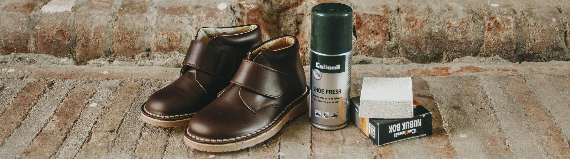 Para limpar sapatos