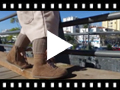 Video from Botas Camurça Fecho-éclair Atacadores de Cetim