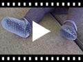 Video from Sapatos Merceditas Bebé Veludo Brilhantes