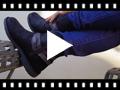 Video from Botas Baixas com Tiras Efeito Serpente