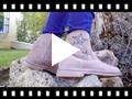 Video from Botas Estrelas Menina e Mulher com Fecho-éclair