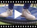 Video from Botins Fecho-éclair Pele Lavável Criança