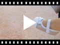Video from Sapatos Mercedita Bebé Napa e Camurça Brilhos