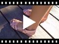 Video from Sandálias Palmilha de Gel