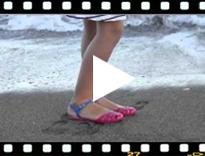 Video from Sandálias de Borracha para Mulher modelo Mara