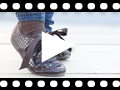 Video from Sapatos Blucher Mulher e Menina Coco