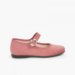 Sapatos Mercedita Bamara Fivela Japonesa Rosa