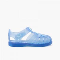 Sandálias de Borracha tiras aderentes   com Estrela do Mar Celeste