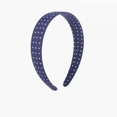 Bandolete Tecido Estrelinhas Azul-marinho