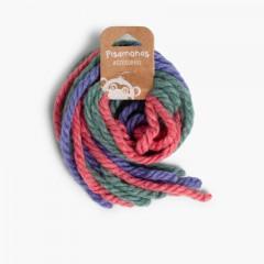 Fios de lã para o Cabelo Rosa e Azul