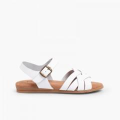 Sandálias Palmilha de Gel Branco