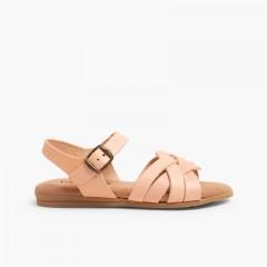 Sandálias Palmilha de Gel Maquilhagem