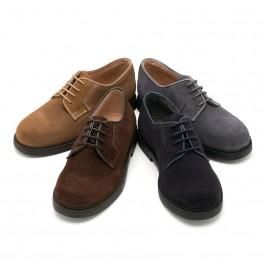 Sapatos Blucher lisos