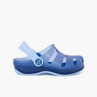 Socas de Borracha Surfi para Crianças Azul-marinho