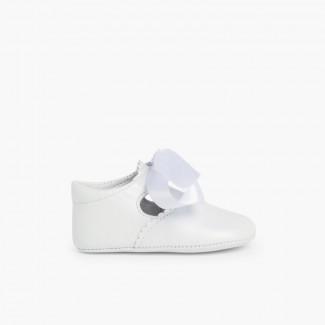 Sapato Pepito Batizado Bebé Branco