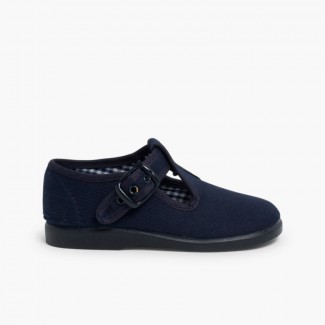 Sapato Pepito Lona Azul-marinho