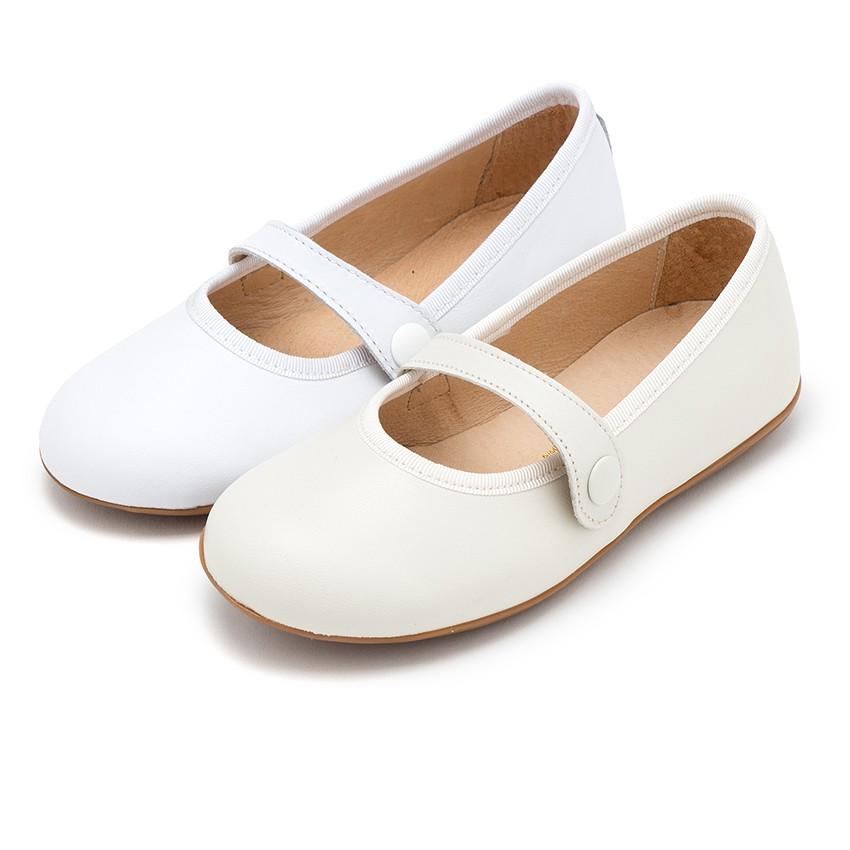 Sapatos Merceditas Pele Menina Comunhão