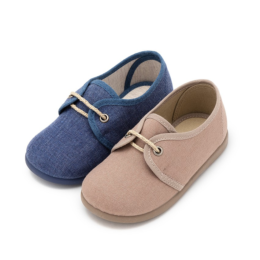 Sapatos Blucher Menino Lona