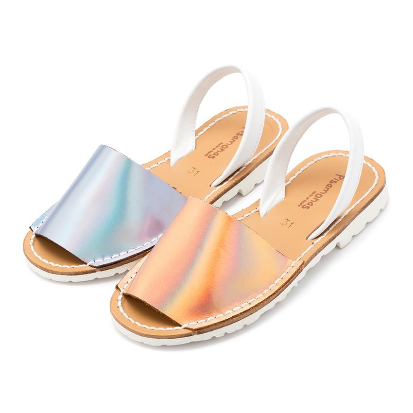 Sandálias Menorquinas Napa Espelho Edição Especial Sola Branca