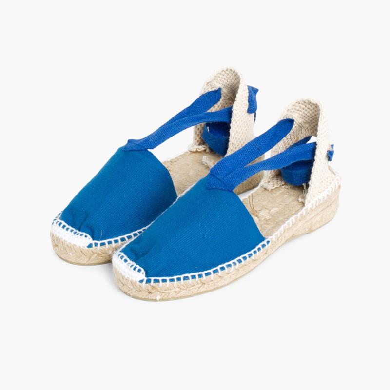 Alpargatas Menina com Tiras Azul�o