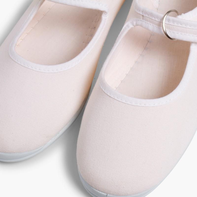 Sapatos Merceditas Menina La Cadena Branco
