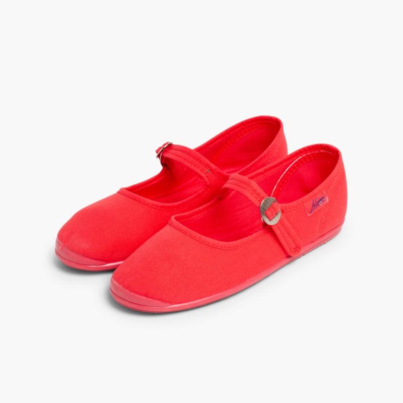 Sapatos Merceditas Menina La Cadena Coral