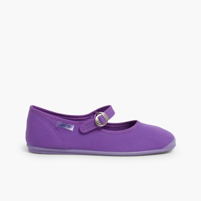 Sapatos Merceditas Menina La Cadena Roxo