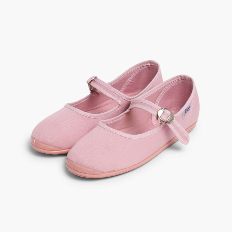 Sapatos Merceditas Menina La Cadena Rosa