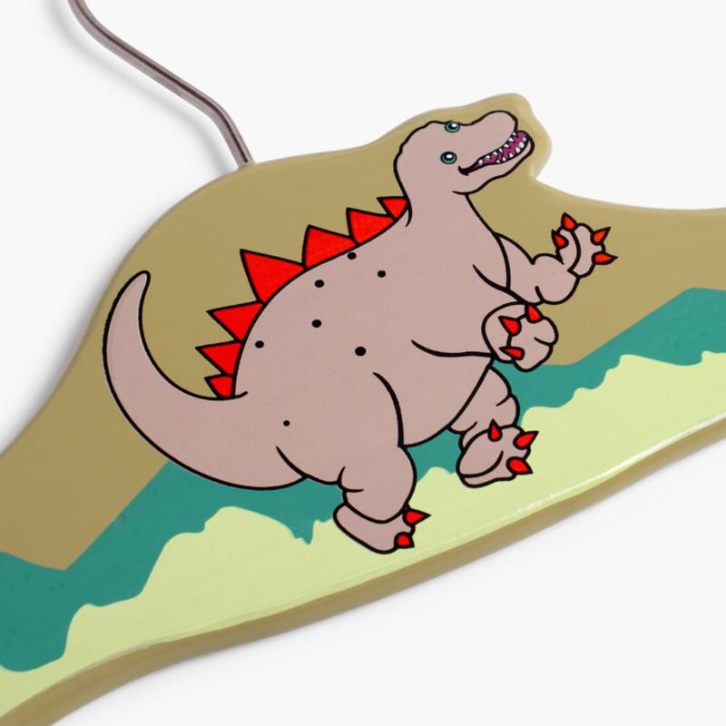 Pack Cabides Madeira Crian�_a Dinossauro