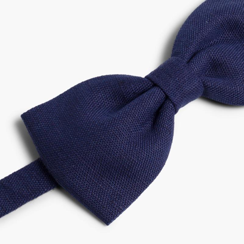 Laços Menino Linho Azul Marinho