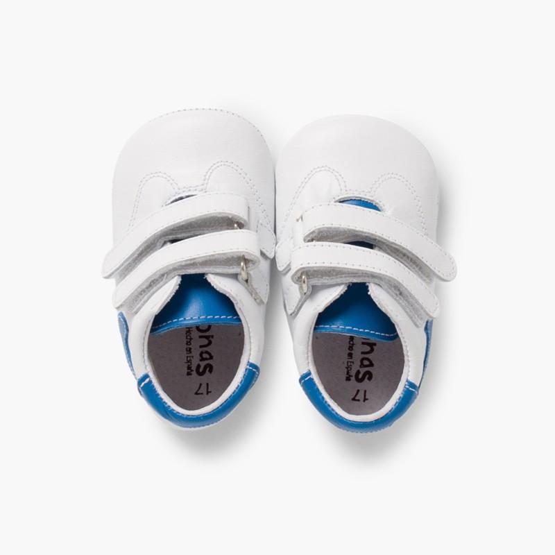 Ténis para Bebé Pele Azul