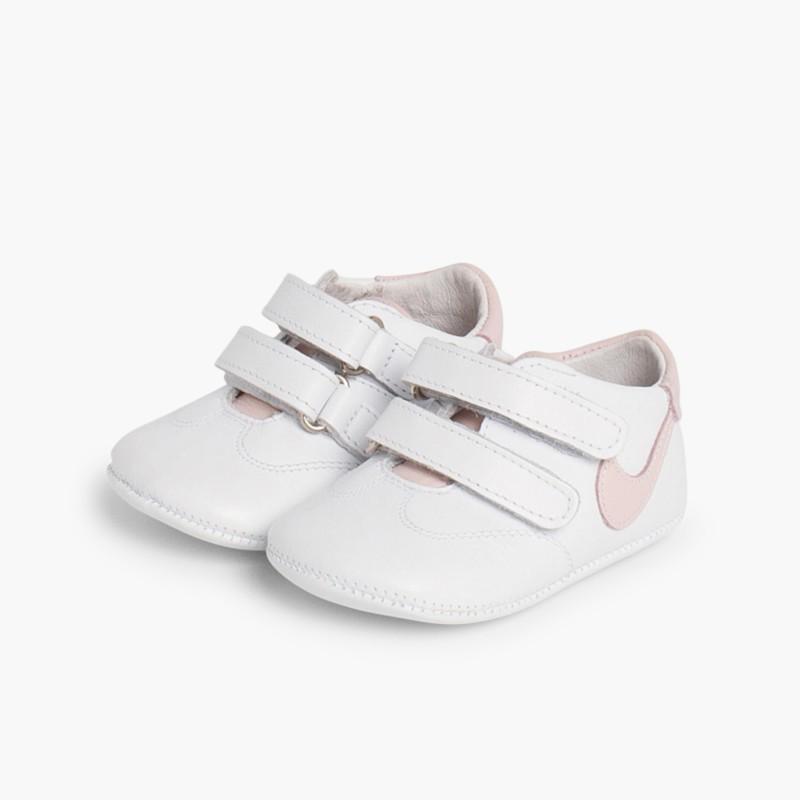 Ténis para Bebé Pele Rosa