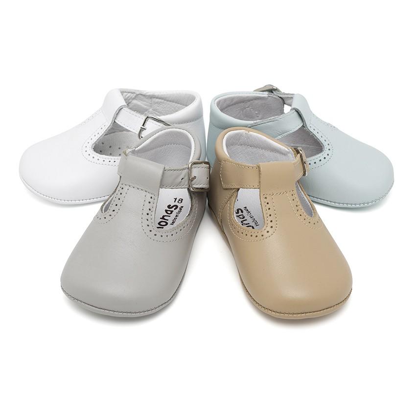 Sapato Pepito Pele Bebé com Fivela
