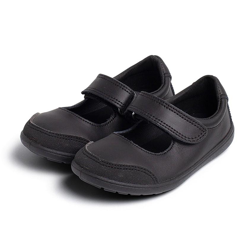 Sapatos Colegiais Laváveis Menina Merceditas Biqueira Reforçada