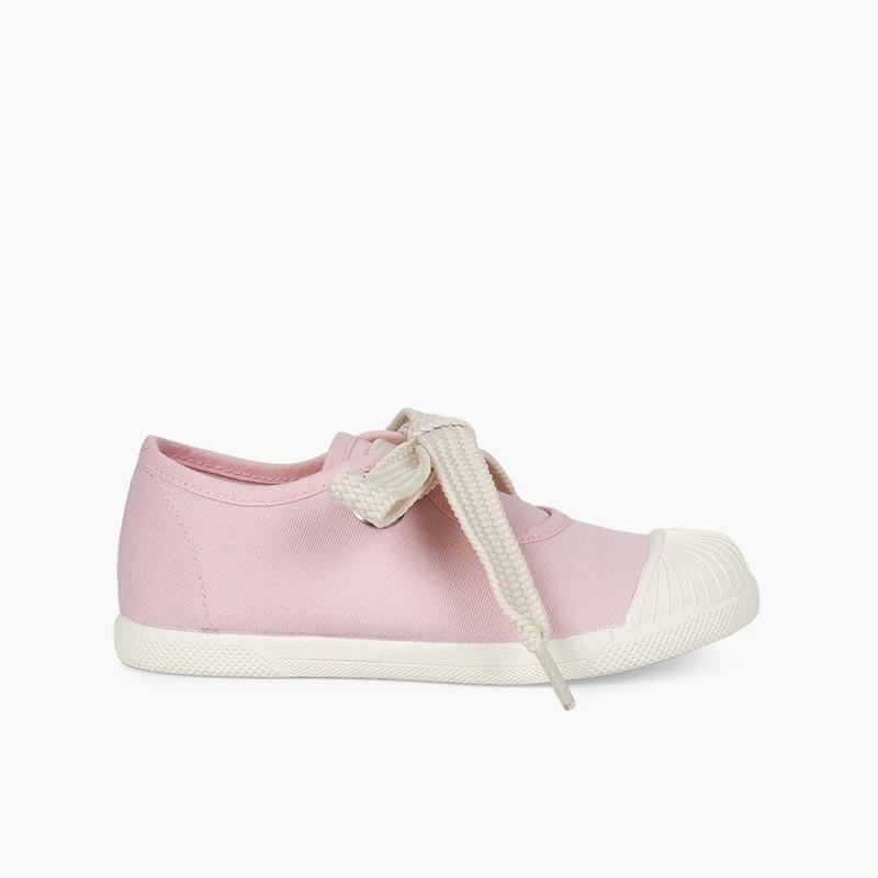 Sapatos Merceditas tipo Ténis Biqueira Borracha