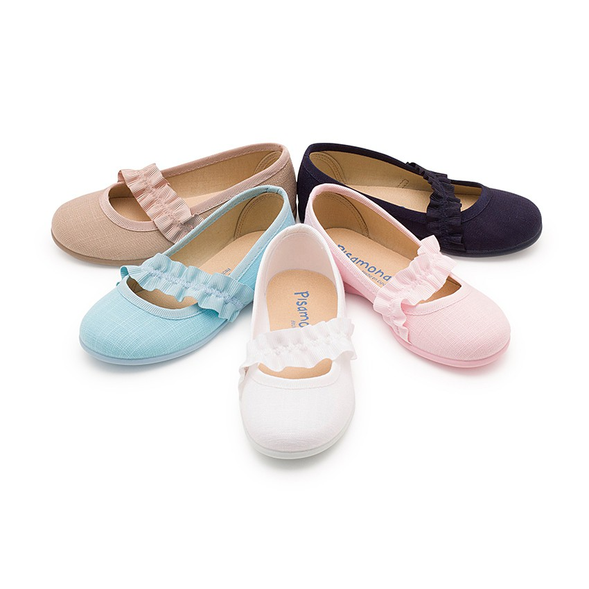 Sapatos Merceditas com Tira Elástica Larga