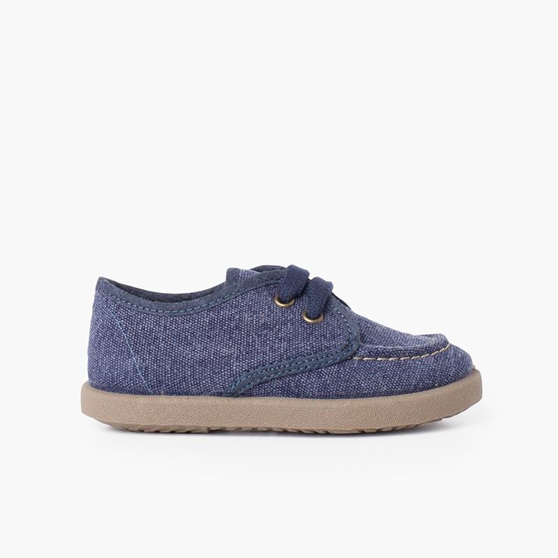 Sapatos de Vela Lona Casual Sport