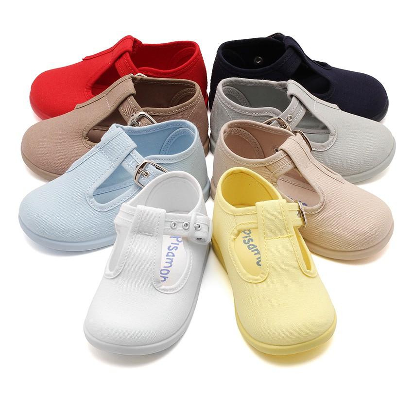 Sapato Pepito Tela com Fivela