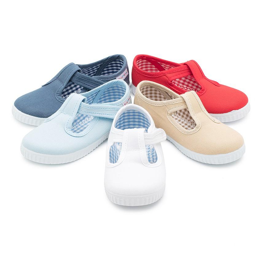 Sapato Pepito com tiras aderentes   sola ténis