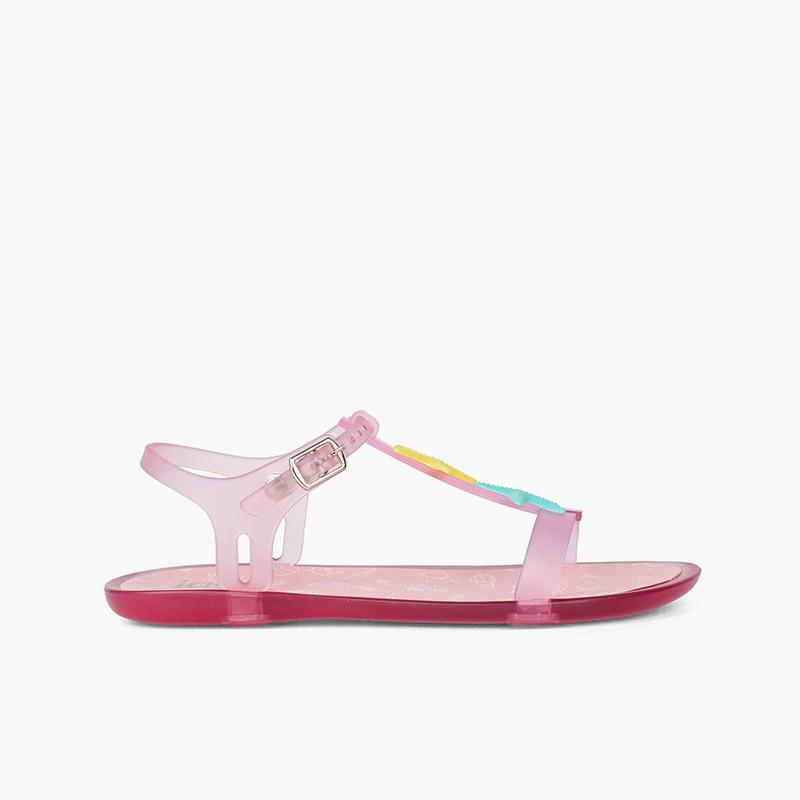 Sandálias de Borracha Estrelas-do-Mar Tricia