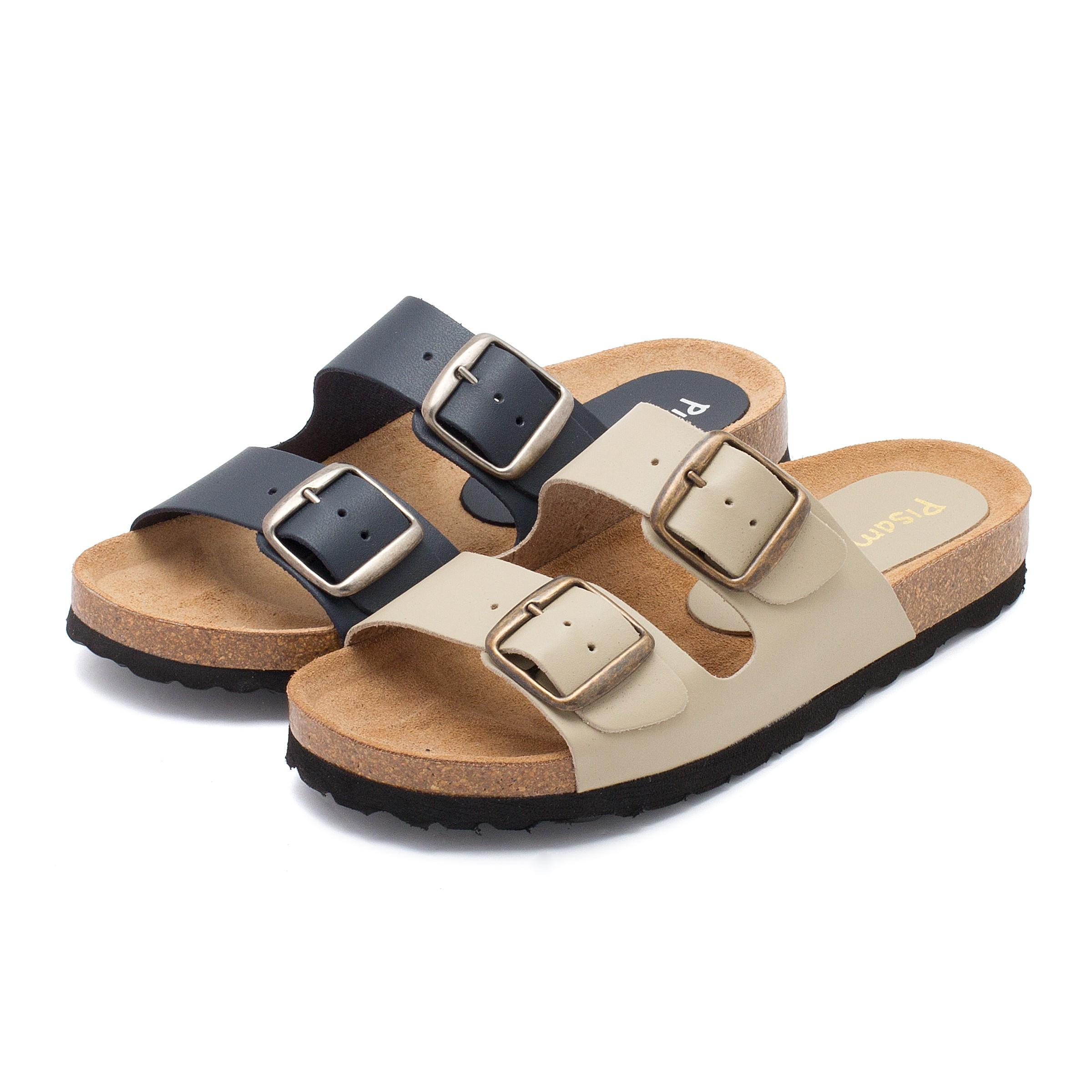 Black Sandals Sand 225 Lias Bio Com Fivelas Sand 225 Lias Homem E Menino