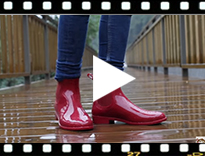 Video from Botins Galocha Menina modelo Urban