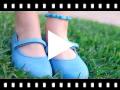 Video from Sapatos Merceditas Tela com Velcro Fino