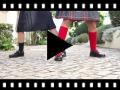 Video from Sapatos Colegiais Menina com Velcro