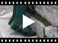 Video from Sapatos Merceditas Veludo com Fivela