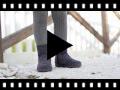 Video from Botas Menina tipo Camurça com Fecho-éclair
