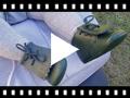 Video from Sapatos Bebé Pele Tipo Botinha com Franjas
