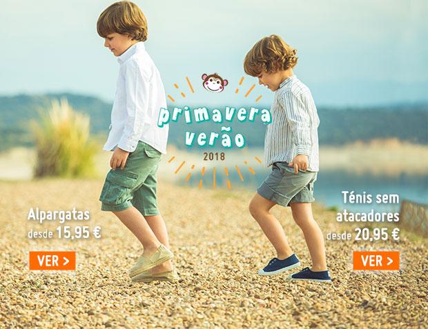 Alpargatas Menino Coleção Primavera Verao 2018