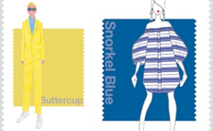 Buttercup e Snorkel Blue